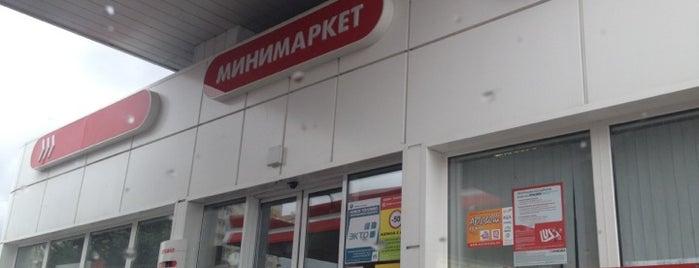 Лукойл АЗС №83 is one of Тимур : понравившиеся места.