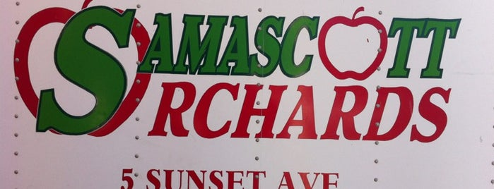 Samascott Orchards is one of adventures outside nyc.