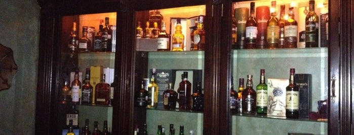 Wallace•Whisky Bar is one of Mexico/CDMX.