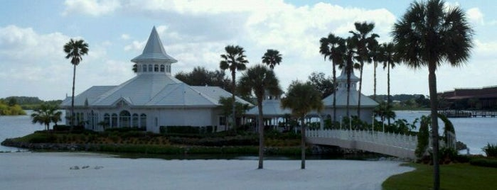 Disney's Wedding Pavilion is one of Full day of free activity around Magic Kingdom.