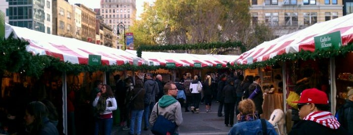 Union Square Holiday Market is one of Fun.