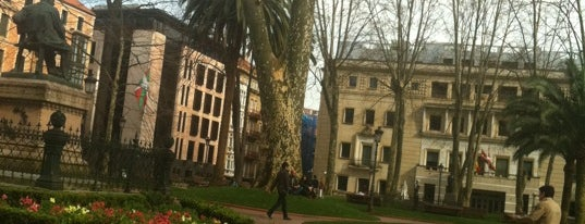 Jardines de Albia is one of Bilbao.