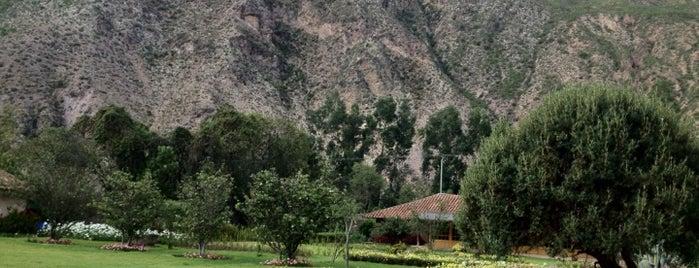 Hotel Casona de Yucay is one of Tempat yang Disukai Karin Cristine.