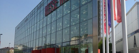 Messe Wien is one of Tempat yang Disukai Alex.