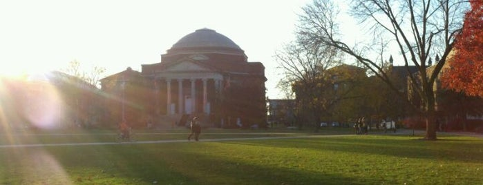 Syracuse University Quad is one of So, You're Stuck In Syracuse..
