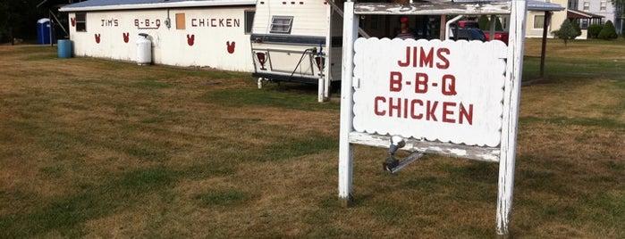 Jims BBQ is one of Posti salvati di Christopher.