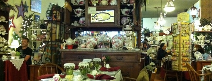 The AubreyRose Tea Room is one of Best Afternoon Tea Spots: San Diego.
