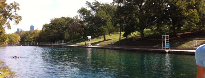 Barton Springs Pool is one of Iconic Austin.