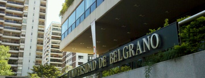 Universidad de Belgrano is one of BA.