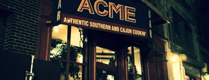 ACME is one of NYC To-Do's (Restaurants).