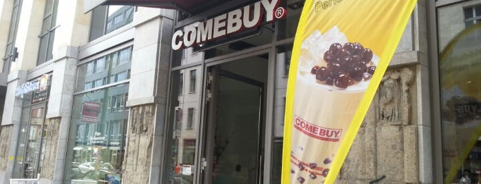 ComeBuy Bubble Tea is one of Berlin.