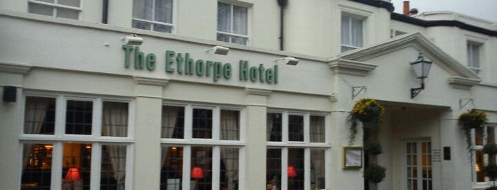 The Ethorpe Hotel is one of Lieux qui ont plu à Carl.