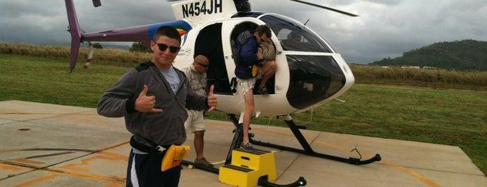 Jack Harter Helicopters is one of Kauai.