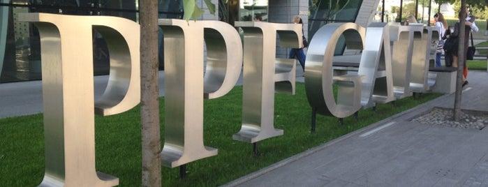 PPF Gate is one of Moderní architektura v Praze.