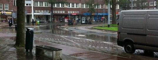 Tramhalte Hoofddorpplein is one of Alle tramhaltes van Amsterdam.