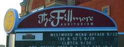 Fillmore Auditorium is one of Come Back Later.