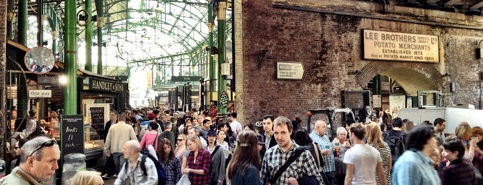 Borough Market is one of London Trip.