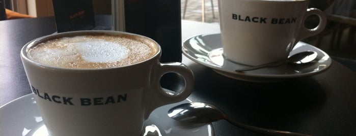 Black Bean - The Coffee Company is one of Jena.