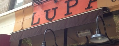Lupa is one of Greenwich Village.