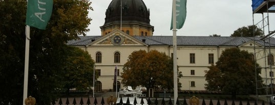 Armémuseum is one of Stockholm City Guide.