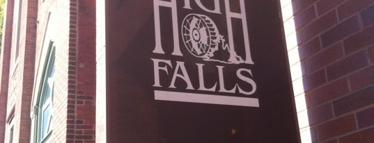 High Falls is one of U.S. Road Trip.