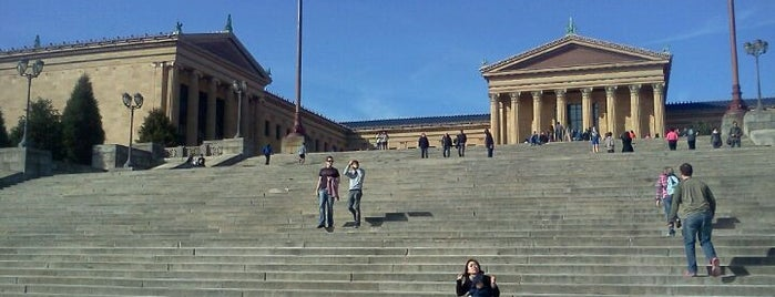 Art Museum Steps is one of Favorite Places in Philly.