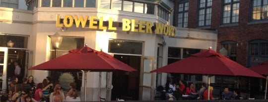Lowell Beer Works is one of Lieux qui ont plu à Gregg.