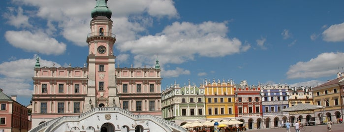 Zamość is one of UNESCO World Heritage Sites in Eastern Europe.