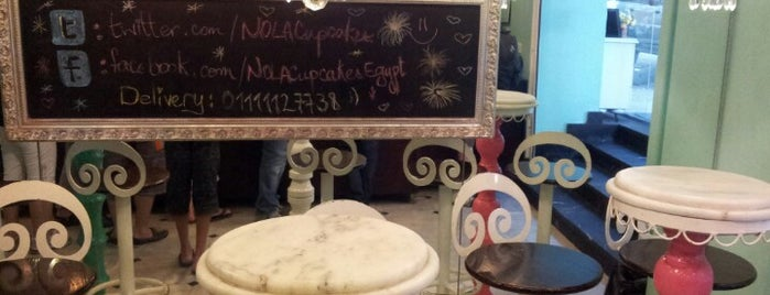 NOLA Cupcakes is one of Cairo B4.