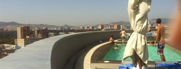 Tryp Condal Mar Pool/Solarium is one of Terrazas Barcelona.