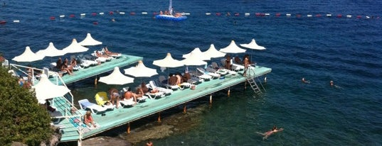 Aura Beach is one of Bodrum.