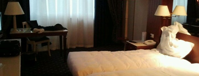 Best Western CTC Hotel Verona is one of Hotels I checked in worldwide.