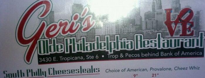 Geri's Olde Philadelphia is one of Food - Misc.