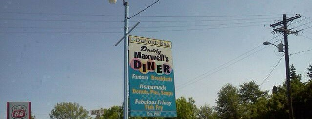 Daddy Maxwell's Diner & Cafe is one of Anoosh 님이 좋아한 장소.