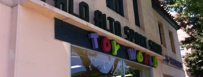 Palo Alto Sports Shop & Toy World is one of SF Trip.