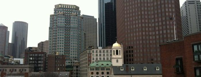 Millennium Bostonian Hotel Boston is one of B R O S T O W N.
