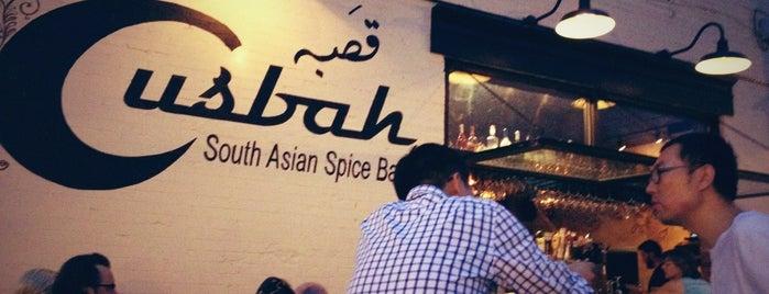 Cusbah is one of Favorite Washington, DC Restaurants.