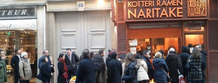 Kotteri Ramen Naritake is one of Paris.