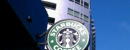 Starbucks is one of If you downtown now you know.