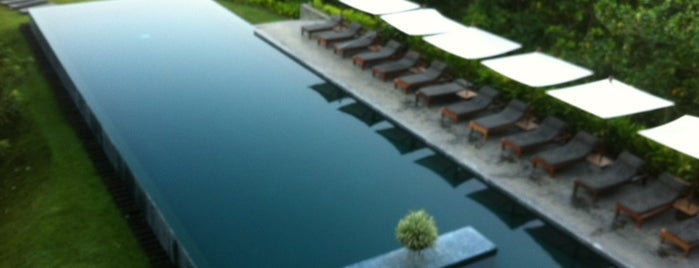 Alila Ubud is one of Design Hotels.