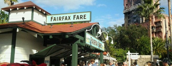Fairfax Fare is one of Disney Dining.