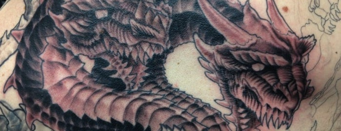 Electric Dragonland Tattoo is one of All The Places I Can Think of That I've been.