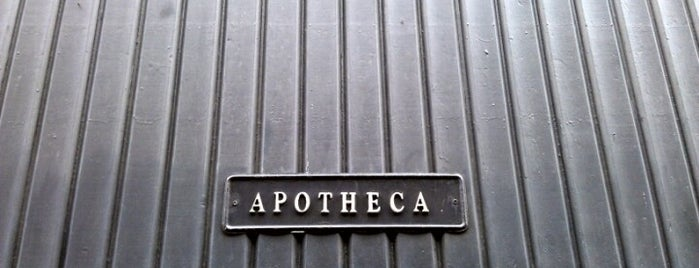 Apotheca is one of Manchester to-do.