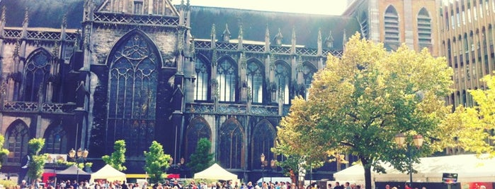 Place Cathédrale is one of (Temp) Best of Liege.