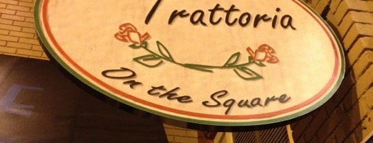 La Trattoria on the Square is one of Carrollton.