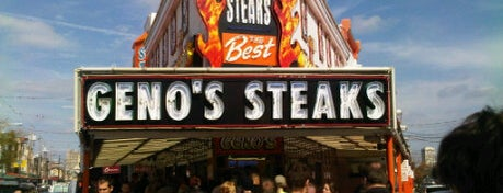 Geno's Steaks is one of Lidia's Italy in America.