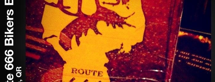 Route 666 Bikers Bar is one of Cancún y La Riviera Maya.