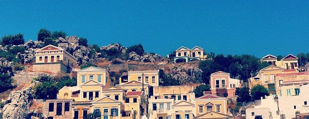 Symi Port is one of Best Spots of Symi.