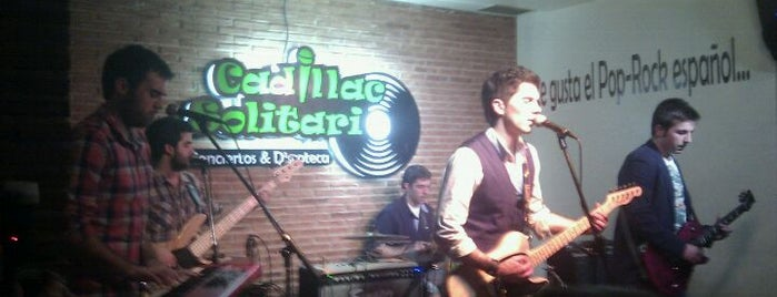 Cadillac Solitario is one of Madrid Live Music (1/2).