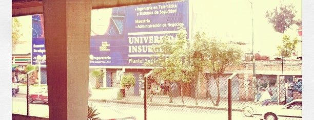 Universidad Insurgentes Plantel Sur I is one of Universidades en D.F. Occidente.